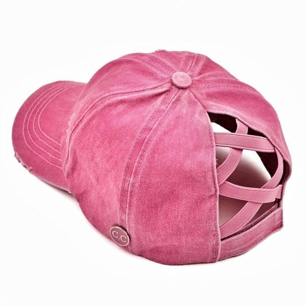pink pony cap