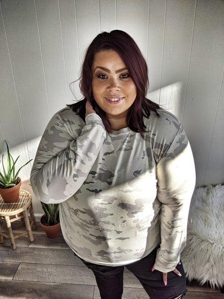 coco camo pullover