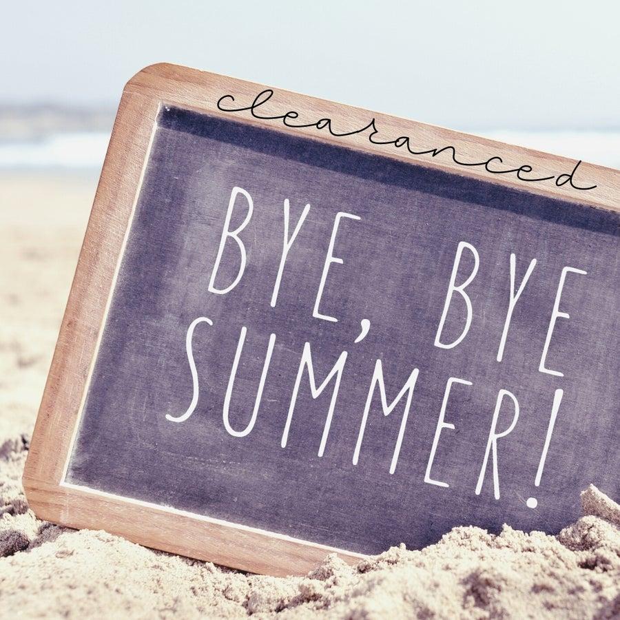 clearanced summer