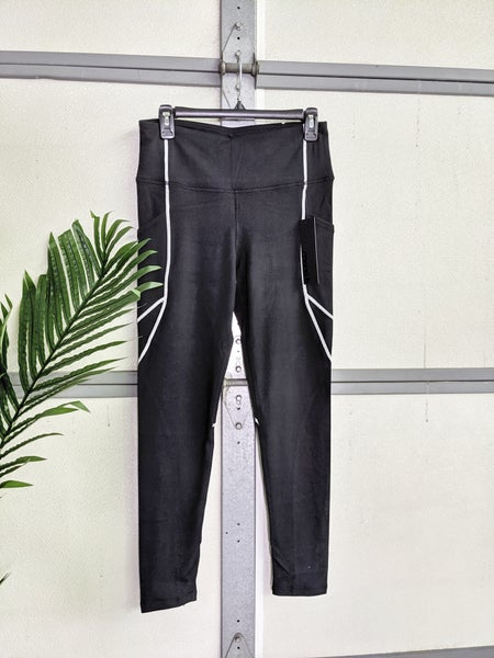 black line yoga pants