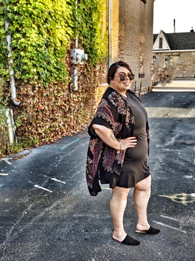 the reign kimono