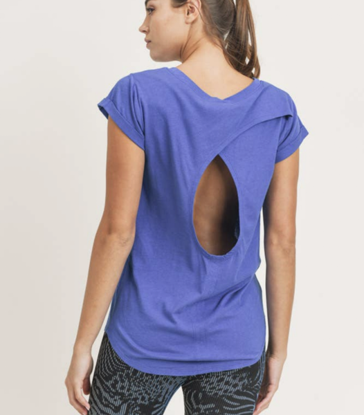 cut out back top {blue}