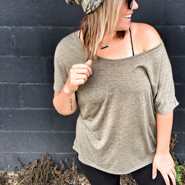 brooklyn slouch top