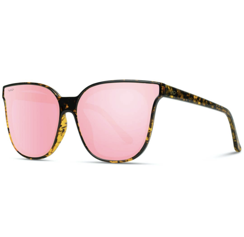 lucy pink mirrored shades {polarized}