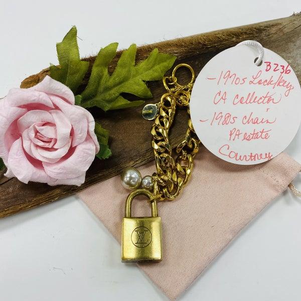Courtney LV Lock Bracelet