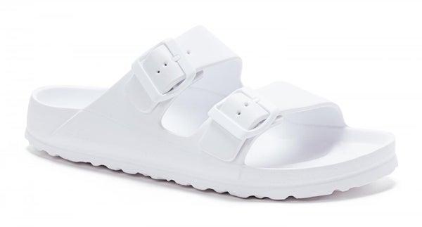 White Waterslide Sandals