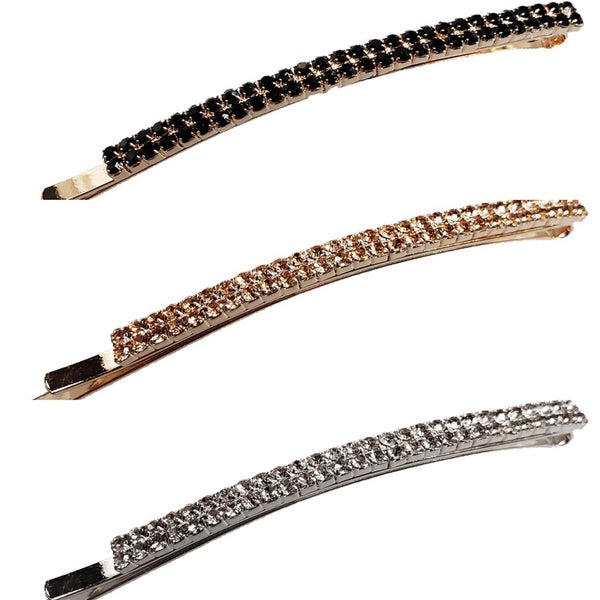 Spark Rounded Metal Bobby Pin