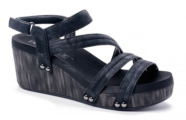 Black Metallic Lifeguard Shoes