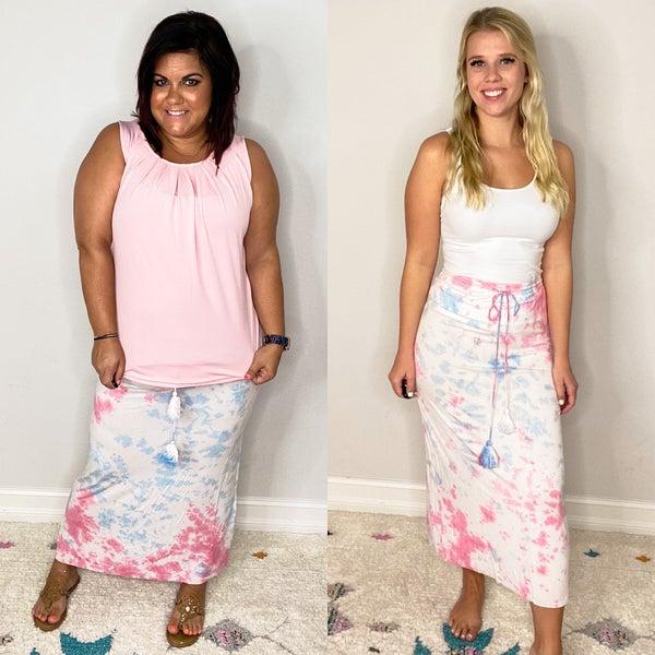 Splash of Color Skirt