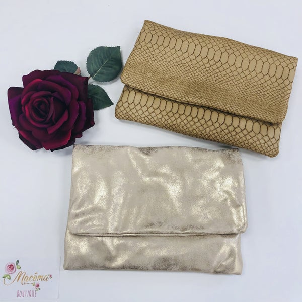 Fold Over Clutches