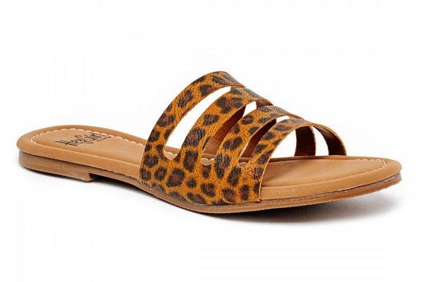 Leopard Bikini Flip Flops