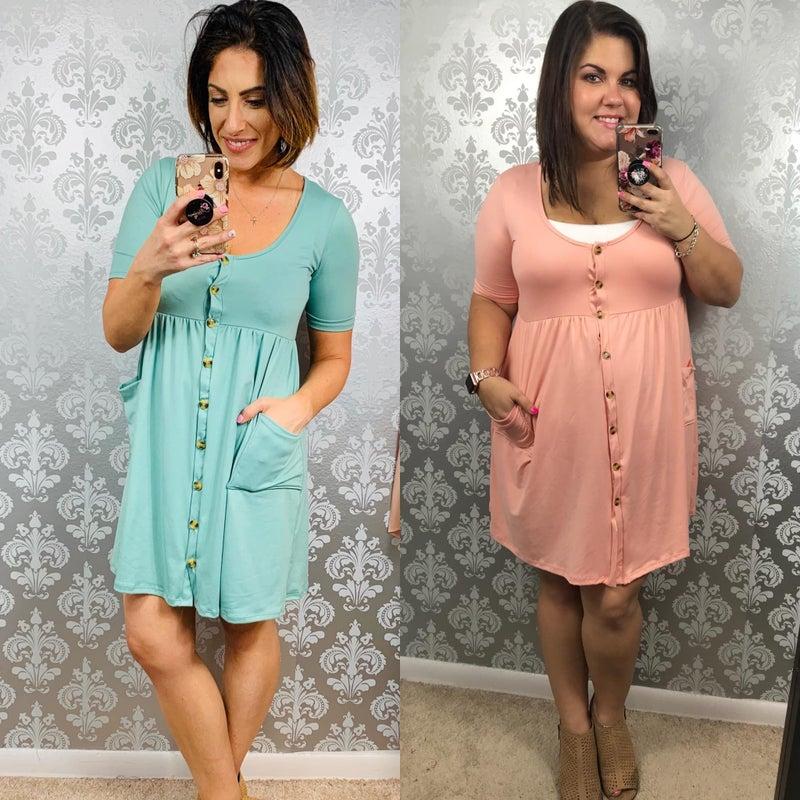 Freya Dress with Side Pockets