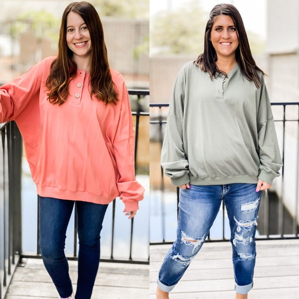 Hooked On You Pullover Top