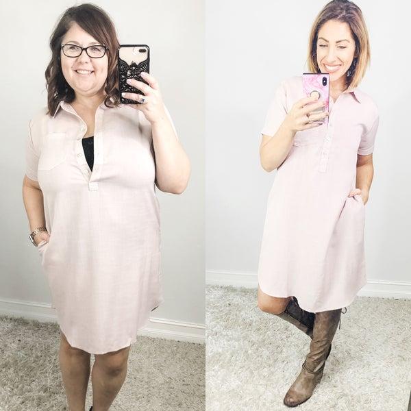 Shift Change Dress
