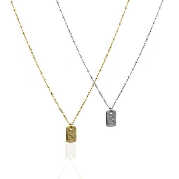 ATL - Twin Tag Necklace