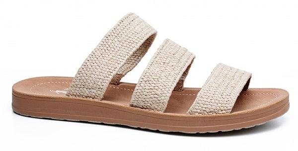 ATL - Natural Woven Dafne Sandals