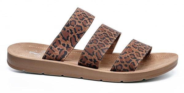 ATL - Leopard Dafne Sandals