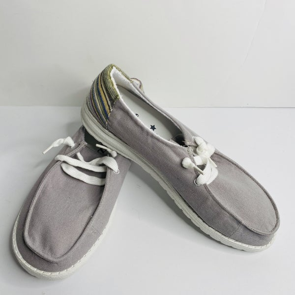 Grey Poppy Shoes