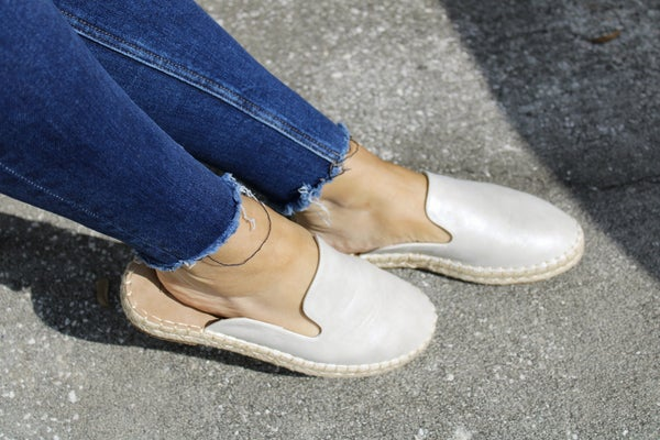 ATL - Silver Taffy Shoes