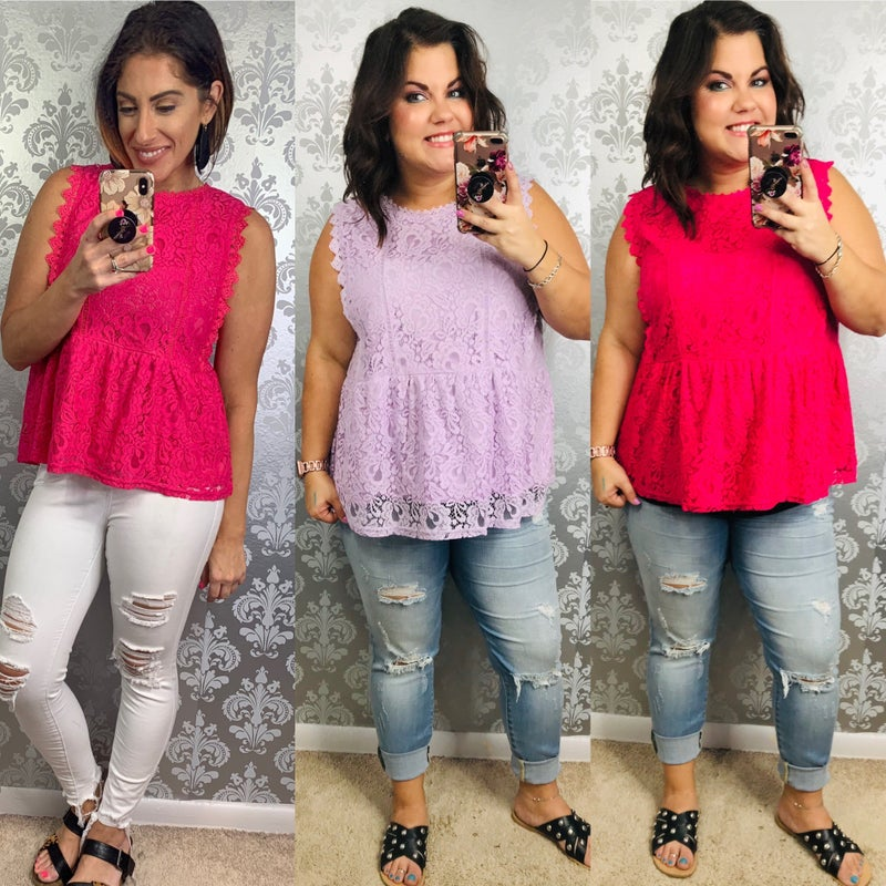Stacey Laci Top