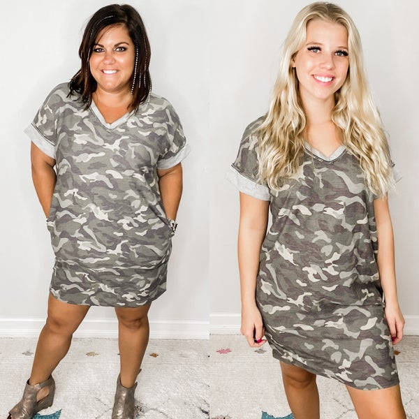 Way Too Good at Camouflage Dress