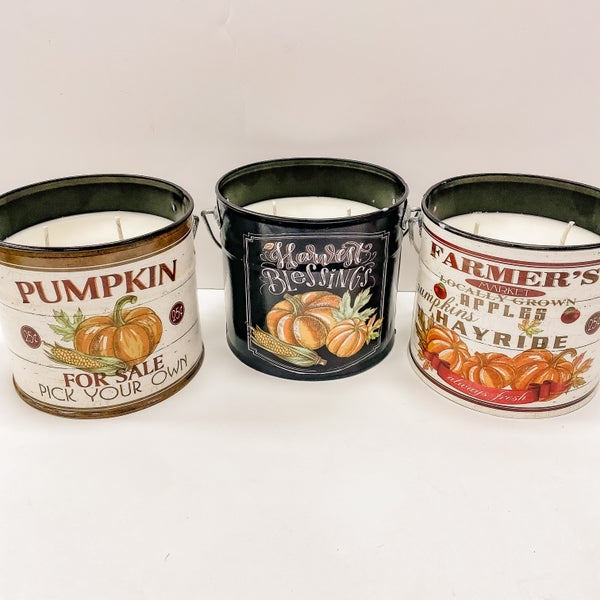 Rustic Mama's Tin Candles