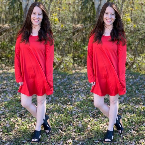 Phierce Solid Mini Dress