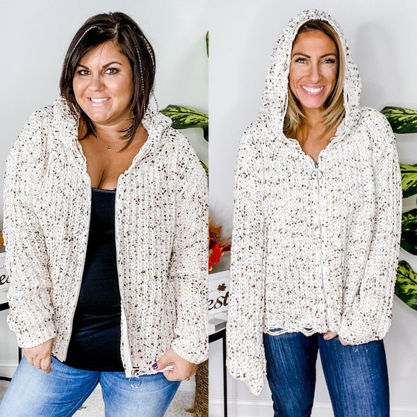 Count on Me Hooded Cardigan