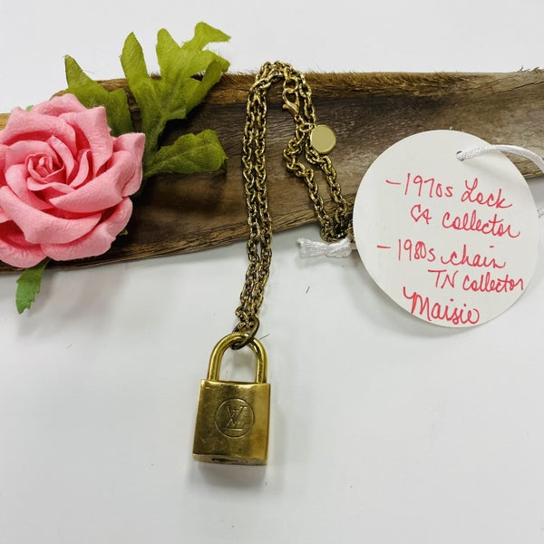 Maisie LV Lock Necklace