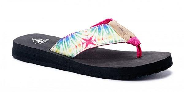 ATL - Bright Multi Bahama Mama Flip Flops
