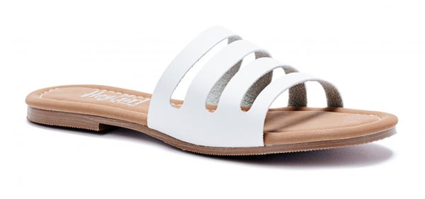 ATL - White Bikini Flip Flops