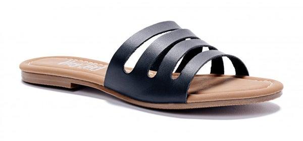 ATL - Black Bikini Flip Flops