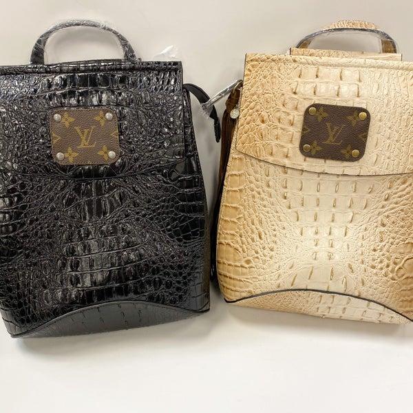 Large LV Alligator Backpacks