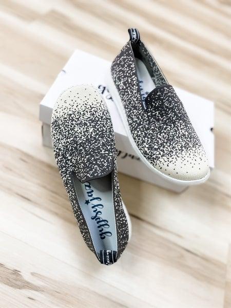 Grey & Cream Sporty Slip On Shoe