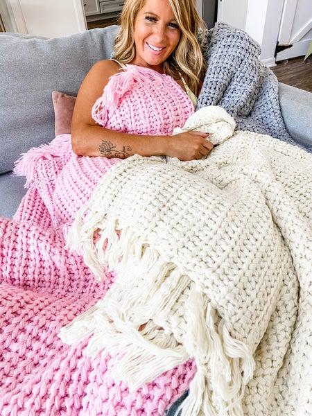Chunky Knit POL Blanket