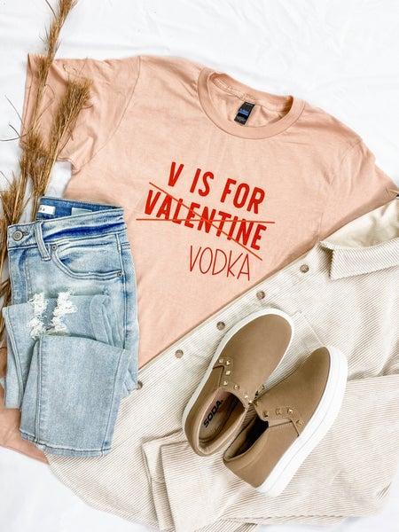 Vodka Valentine Graphic Tee