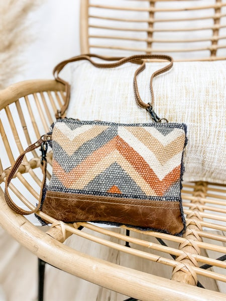 Eccentric Small Crossbody Bag W/ Handle