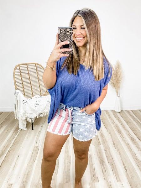 All American Girl Judy Blue Shorts