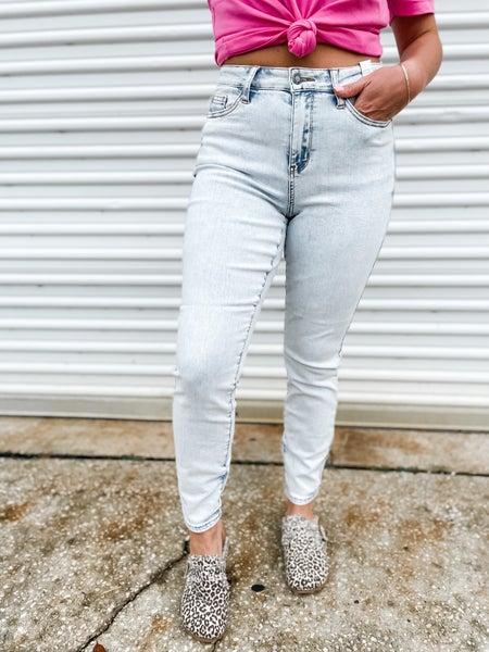 Needing Something Light-Wash Judy Blue Jeans