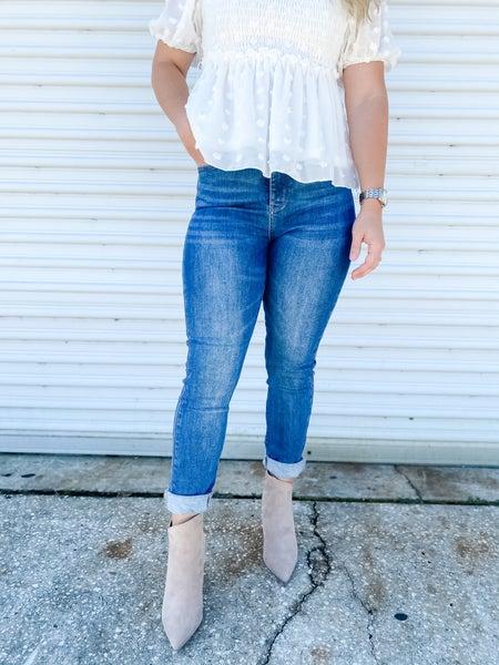 Keep On Walkin High-Rise Judy Blue Jeans
