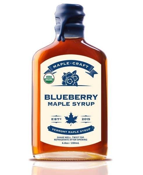 Organic Blueberry Maple Craft Syrup