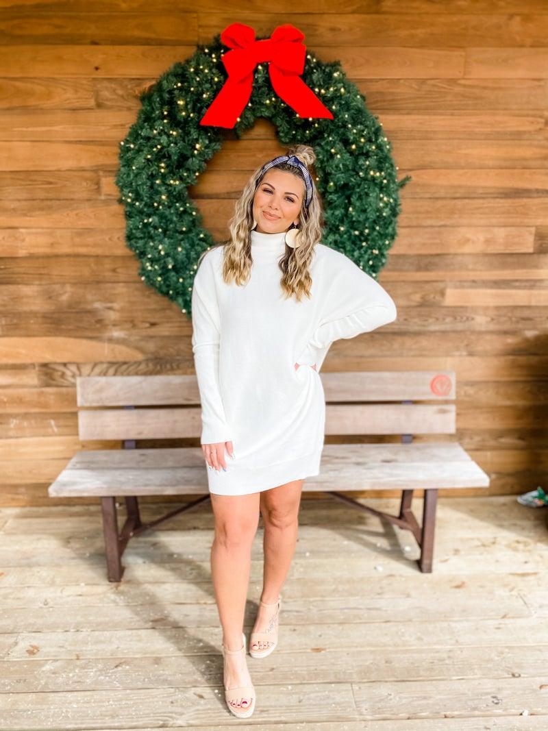 Sweet Spot Cream Tunic Sweater