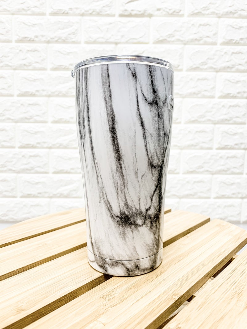 20 oz Marble Stainless Steel Tumbler