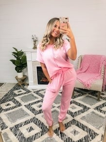 Not Your Everyday Loungewear Separates - Pink