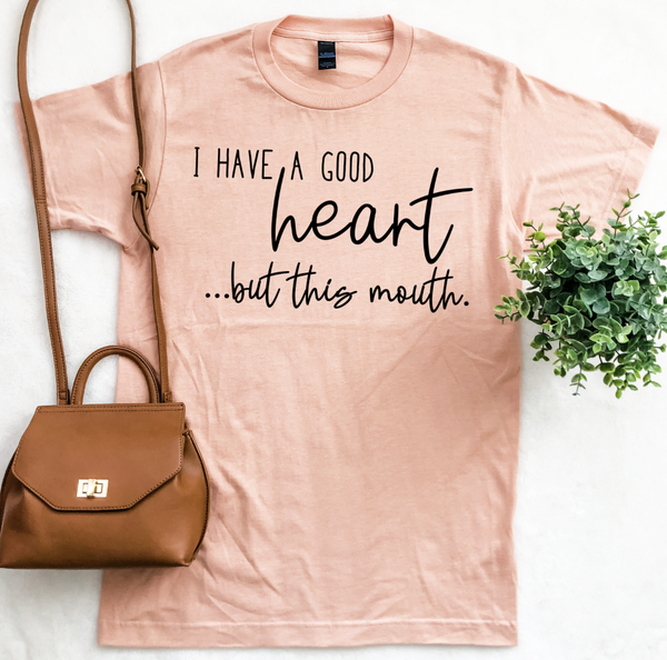 THIS MOUTH GRAPHIC TEE