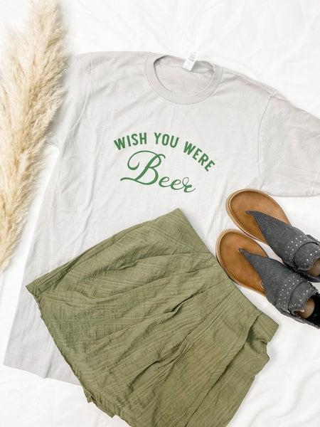 Wish You Were Beer Graphic Tee