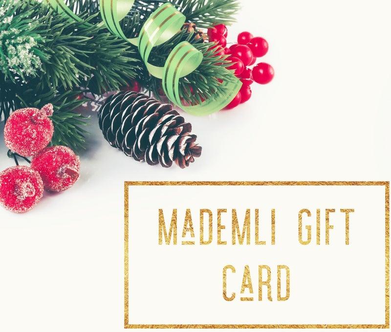 Mademli Gift Card