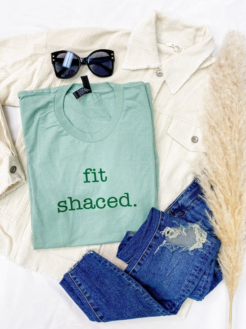 Fit Shaced Graphic Tee