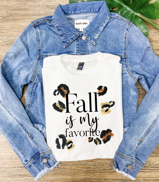 Fall Is My Favorite Graphic Tee