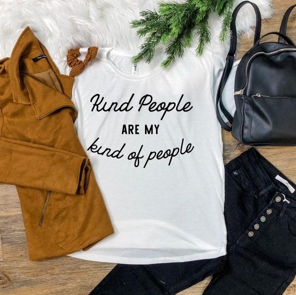 KIND PEOPLE GRAPHIC TEE